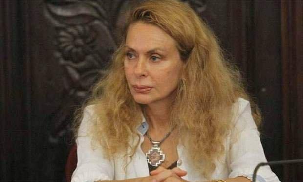FOTO: ¿Eliane Karp con un alma en pena en la Fiscalía?