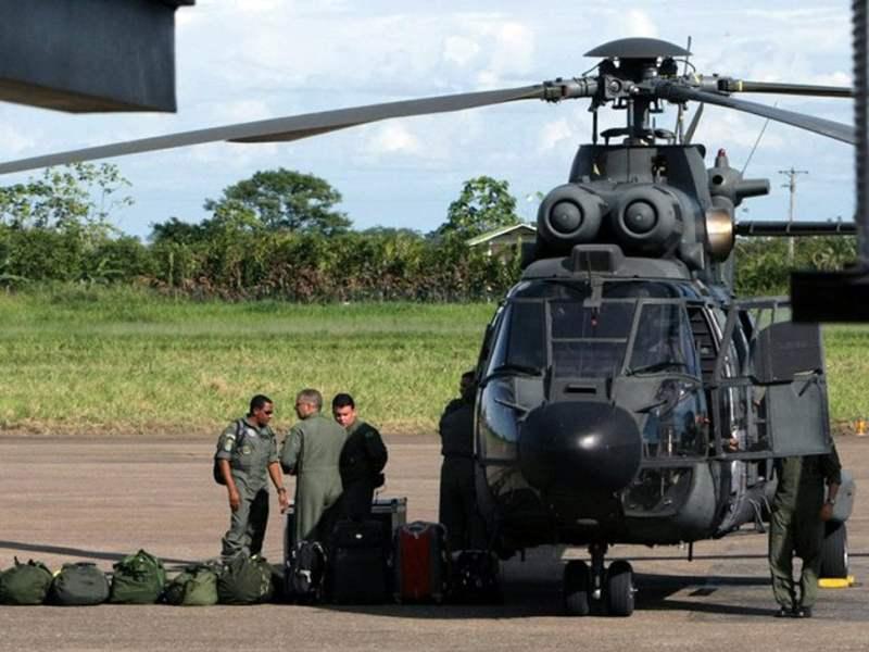 Operativo de liberación de rehenes en Colombia
