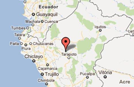 Sismo en Moyobamba