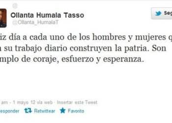 Ollanta Humala Twitter
