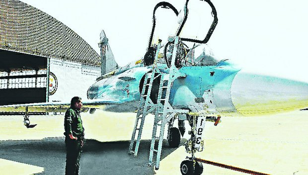 Aviones Mirage 2000