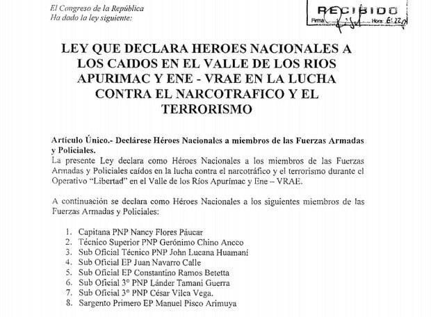 Proyecto de Héroes Nacionales