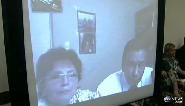 Enrique Milla y su esposa (Foto:ABC)