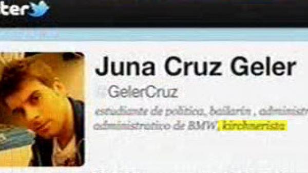 La biografía de los falsos twitteros cambió tras el informe de Lanata.