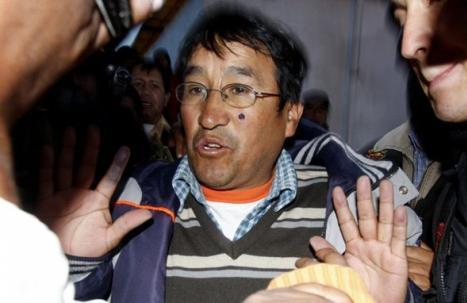 Alcalde Óscar Mollohuanca