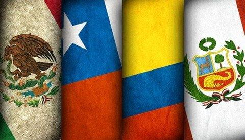México, Chile, Colombia y Perú forman la Alianza del Pacífico