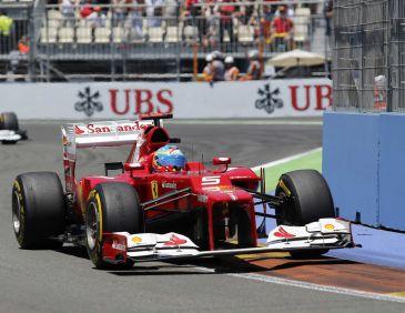 Fernando Alonso consiguió ganar de manera fantástica el Grand Premio de Europa