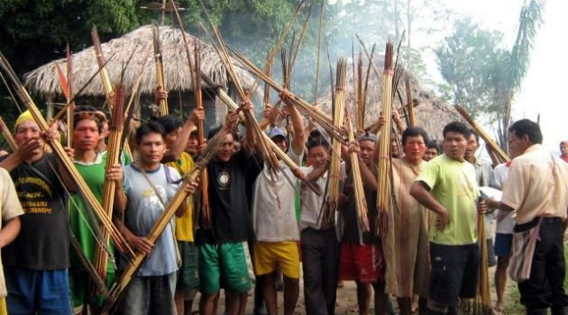 Baguazo, radicales usaron nativos