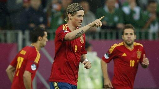 España a punto de clasificar a cuartos de final de la Eurocopa