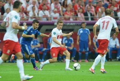 Polonia no pudo vencer como local a Grecia