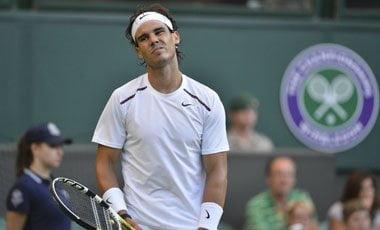 Rafael Nadal quedó eliminado de Wimbledon en segunda ronda
