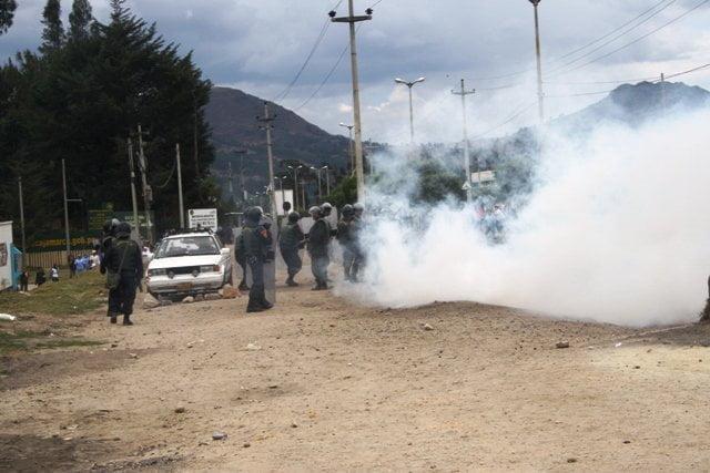 Violencia en Cajamarca