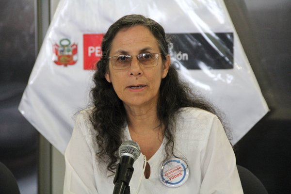 Ministra Patricia Salas