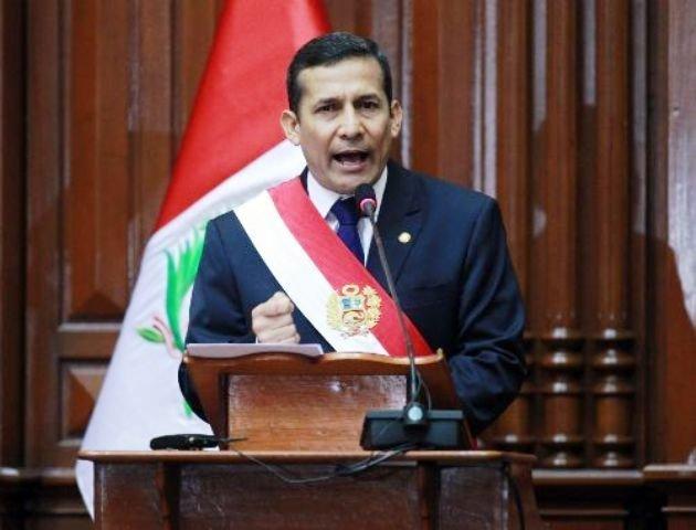 La popularidad de Humala cayo seis puntos por intentar comprar Repsol