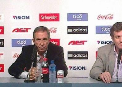 Gerardo Pelusso asumió la dirección técnica de la selección paraguaya de fútbol
