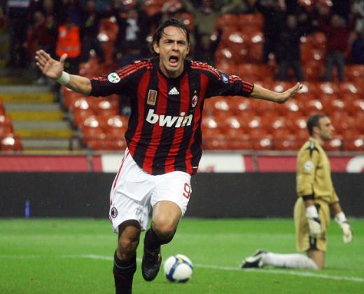 Filippo Inzaghi será entrenador de la Sub 17 del AC Milan