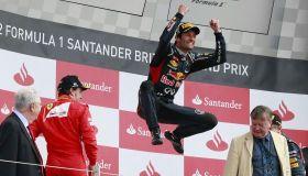 Webber ganó el Grand Prix de Gran Bretaña