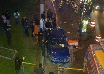 Tragedia en Surco (Foto: Diario El Comercio)