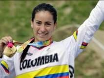 Colombia obtuvo su primera medalla de oro en Londres a través de la ciclista Mariana Pajón