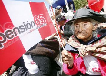Pensión 65 en la mira