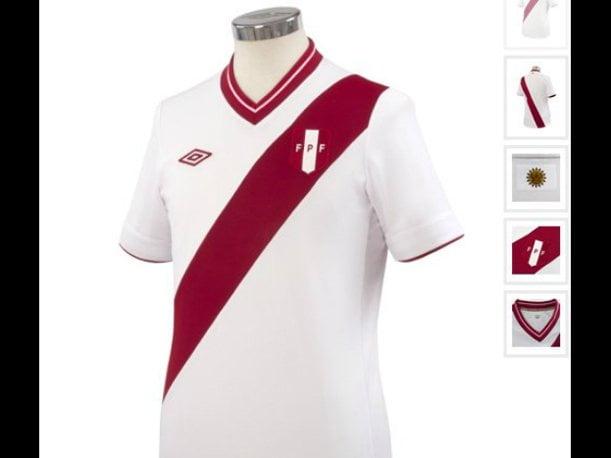 La selección peruana de fútbol lucirá nueva camiseta para los partidos por Clasificatorias ante Venezuela y Argentina