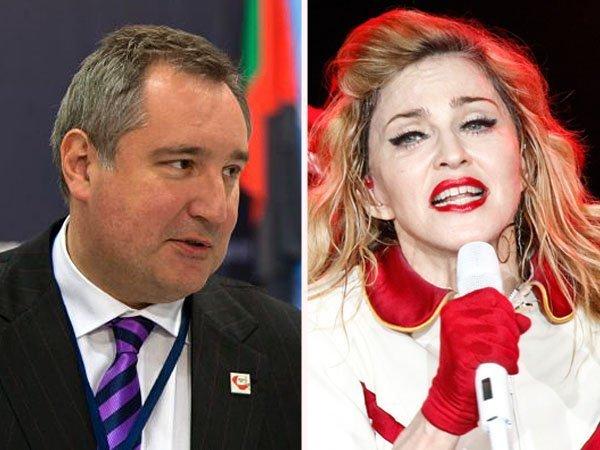 Arremetida de Dmitry Rogozin contra Madonna
