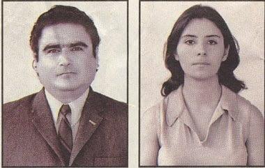 Abimael Guzmán y Augusta La Torre