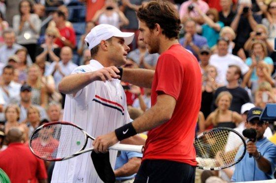 Andy Roddick le dijo adiós al tenis profesional en el Abierto de Estados Unidos