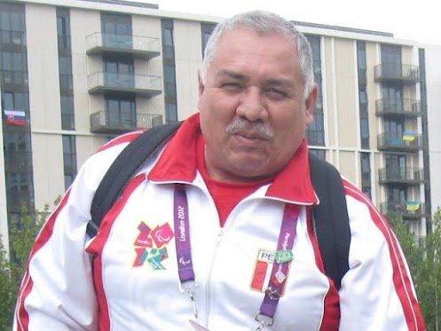 Nuestro único representante en los Juegos Paraolímpicos Londres 2012, Pompilio Falconí, acabó décimo en la prueba de lanzamiento de disco