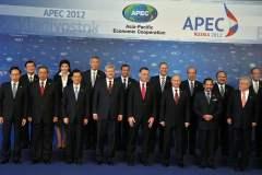 Ollanta Humala y los presidentes de APEC