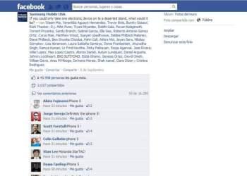 Los seguidores de Samsung en Facebook prefieren el Iphone 5
