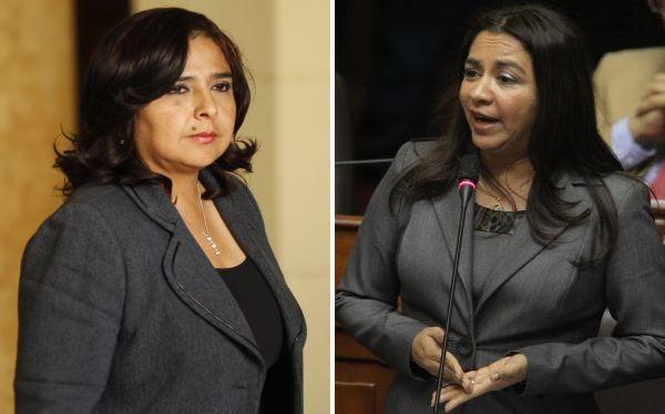 Ana Jara y Marisol Espinoza