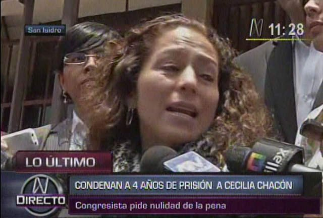 Congresista Cecilia Chacón
