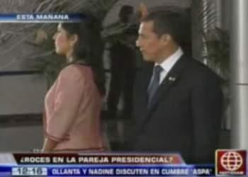 ¿Problemas entre la pareja presidencial?