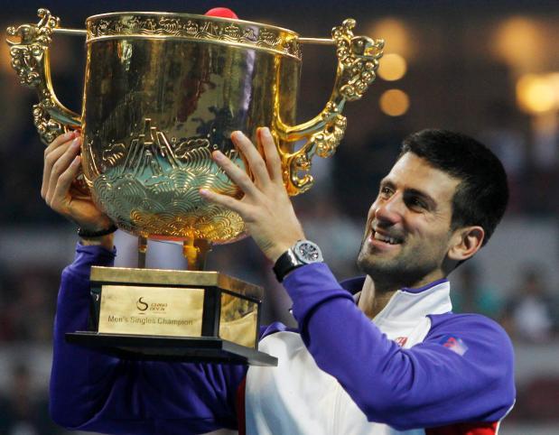 Novak Djokovic se coronó tricampeón del torneo de Pekín al derrotar a Tsonga