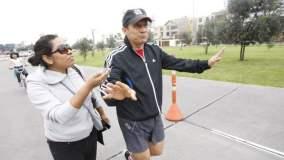 Ollanta Humala y periodista de Peru 21