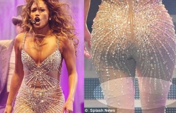 JLo queda al descubierto (Fotos: dailymail.co.uk)
