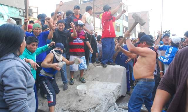 La Parada: Sólo prisión suspendida para decenas de vándalos