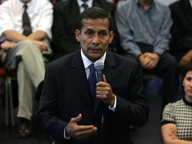 """Humala recuerda """"hiperinflación"""" del Apra e insiste con la Gran Transformación"""
