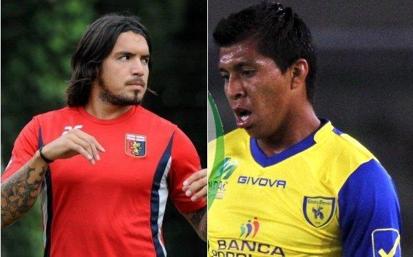 Juventus derrotó 2-1 al Siena y se mantiene en la punta de la Serie A junto al Napoli. Los equipos de los peruanos Vargas y Cruzado ganaron