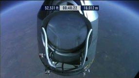 Felix Baumgartner rumbo a la Estratósfera