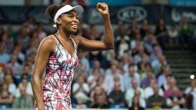 Venus Williams se consagró campeona del circuito de Luxemburgo al vencer a Niculescu