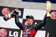 Sebastian Vettel ya es líder de la F1 y va rumbo a su tercera coronación en forma consecutiva