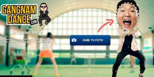 Nueva aplicación de Gangnam Style