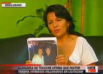 Alcaldesa Corina de la Cruz presenta audio de Aurelio Pastor