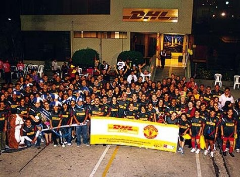 Equipo DHL