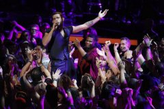 Diego Val dejó The Voice / Crédito de la Imagen: Tyler Oro / NBC © NBC Universal Inc.,