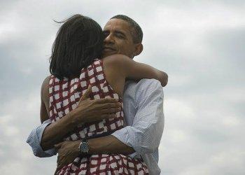 Barack Obama y Michelle