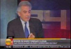 Álvaro Vargas Llosa en TVN