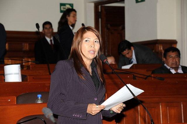 Congresista María Cordero